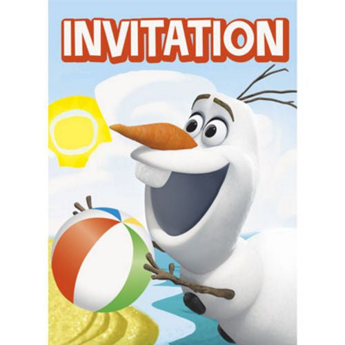 Invitations Olaf - Uptown Parties & Balloons