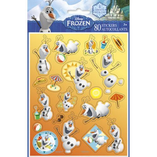 Olaf Stickers - Uptown Parties & Balloons