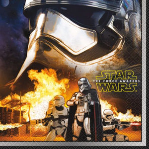Star Wars VII Lunch Napkins - Uptown Parties & Balloons