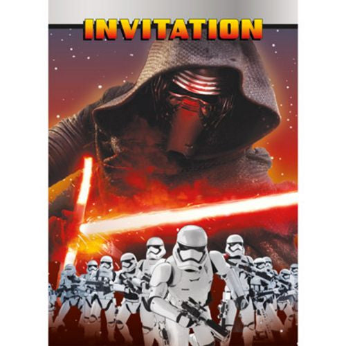 Star Wars VII Invitations