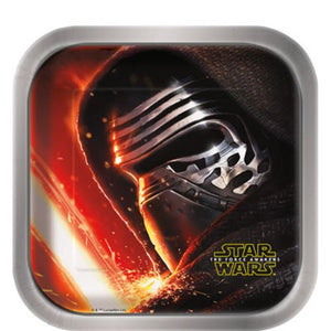 "Star Wars VII 7"" Plates - Uptown Parties & Balloons"