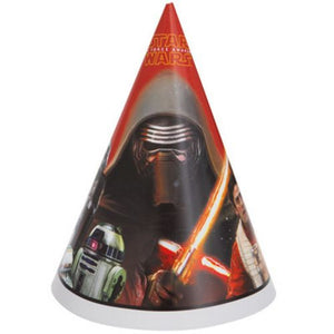 Star Wars VII Party Hats - Uptown Parties & Balloons