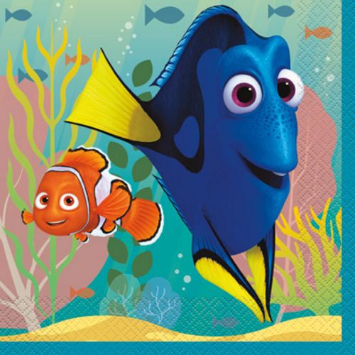 Finding Dory Lunch Napkins - Uptown Parties & Balloons