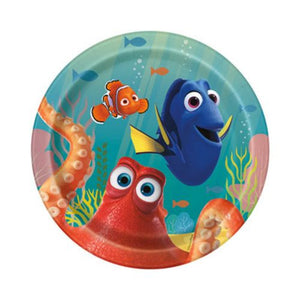 "Finding Dory 7"" Plates - Uptown Parties & Balloons"