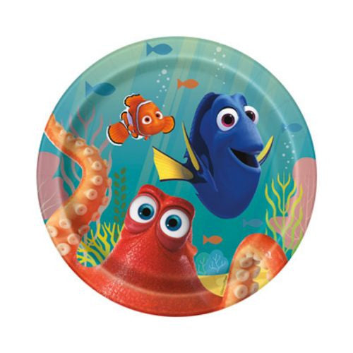 "Finding Dory 7"" Plates"