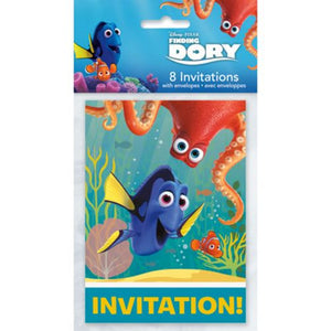Finding Dory Invitations - Uptown Parties & Balloons