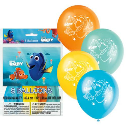 Finding Dory Latex Balloons - Uptown Parties & Balloons
