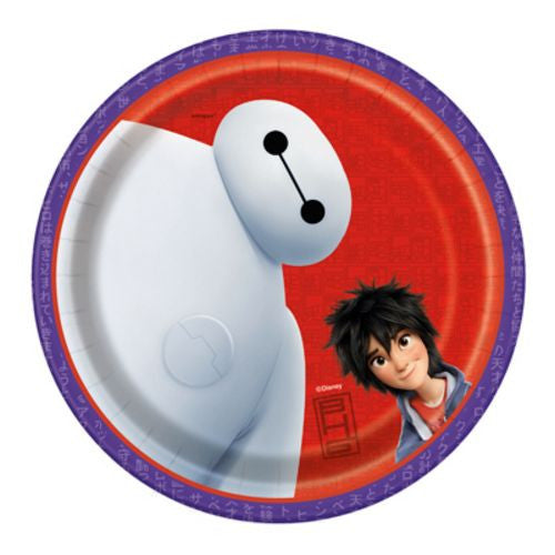 "Big Hero 6 7"" Plates - Uptown Parties & Balloons"