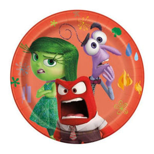 "Inside Out 7"" Plates - Uptown Parties & Balloons"