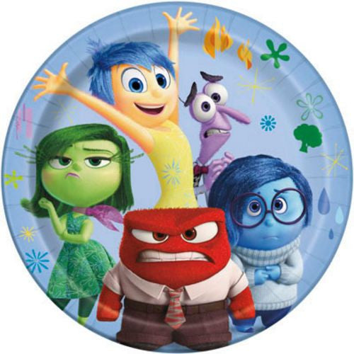 "Inside Out 9"" Plates - Uptown Parties & Balloons"