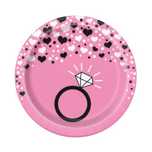 "Bachelorette Party 7"" Plates - Uptown Parties & Balloons"