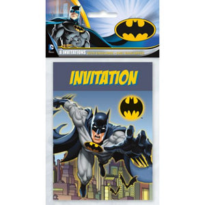 Batman Invitations - Uptown Parties & Balloons