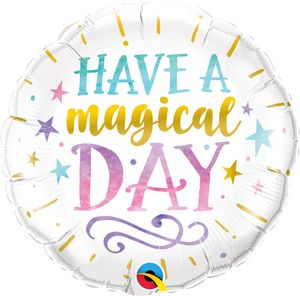 "18"" HAVE A MAGICAL DAY - Uptown Parties & Balloons"