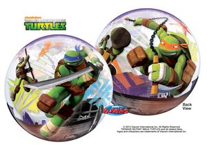 Teenage Mutant Ninja Turtles Bubble - Uptown Parties & Balloons