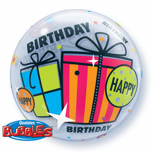 Birthday Fun & Funky Gifts Bubble - Uptown Parties & Balloons