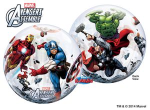 MARVEL'S Avengers Assemble Bubble - Uptown Parties & Balloons