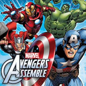 Avengers Lunch Napkins - Uptown Parties & Balloons