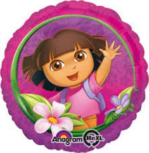 Dora The Explorer - Uptown Parties & Balloons