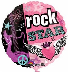Rock Star - Uptown Parties & Balloons