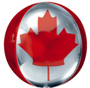 Canada Flag Orbz - Uptown Parties & Balloons
