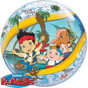 Jake And The Neverland Pirates Bubble - Uptown Parties & Balloons