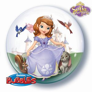 Sofia The First Bubble - Uptown Parties & Balloons