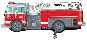Fire truck SuperShape - Uptown Parties & Balloons