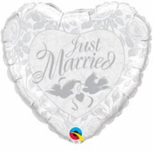 Just Married Heart SuperShape