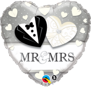 Mr. And Mrs. Wedding - Uptown Parties & Balloons