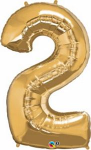 SuperShape 2 Gold - Uptown Parties & Balloons