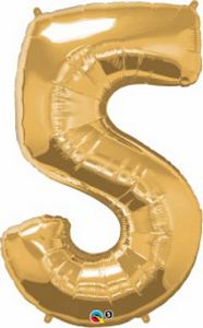 SuperShape 5 Gold - Uptown Parties & Balloons