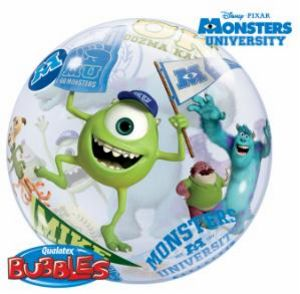 Monsters University Bubble - Uptown Parties & Balloons