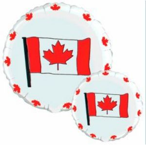 Canada Flag - Uptown Parties & Balloons