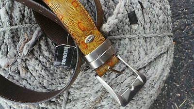 Nanni exotic leather belts NWT Rare Skins & Hardware Milano Italy NANNI BELT NEW
