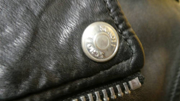 Schott NYC WOMEN  Motto Vintage Leather STUNNING  Small New w/tags Rare SOLD OUT