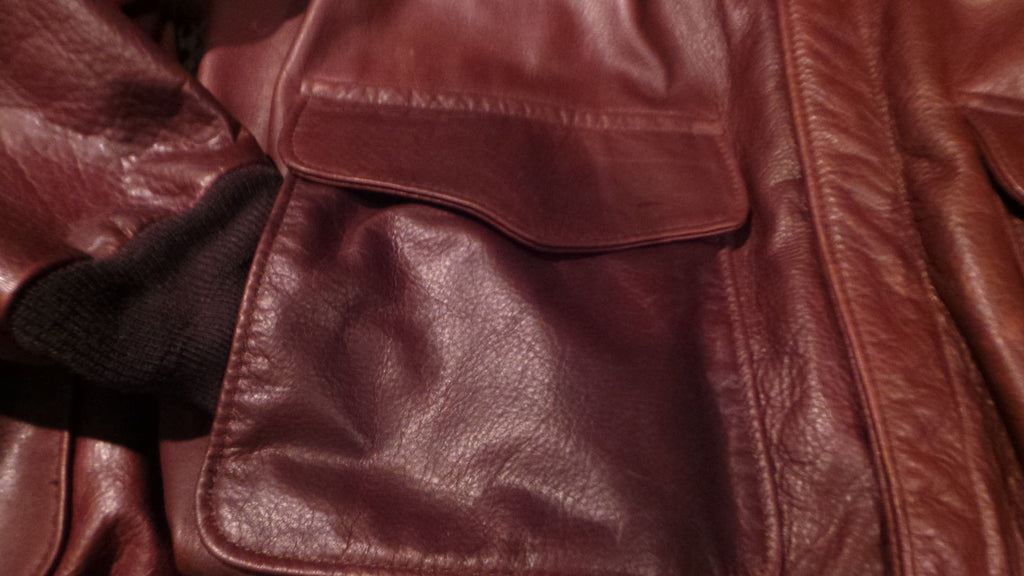 62039c171 SCHOTT NYC A-2 FLIGHT LEATHER JACKET SIZE XX-LARGE MADE IN USA GREAT SKINS  SOLD SOLD