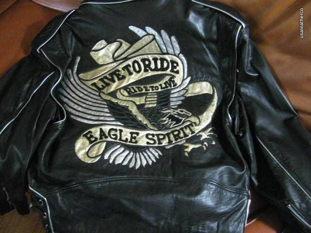 Montana NEW Leathers Jacket Rare Design Stunning  LAMBSKINS MADE IN USA