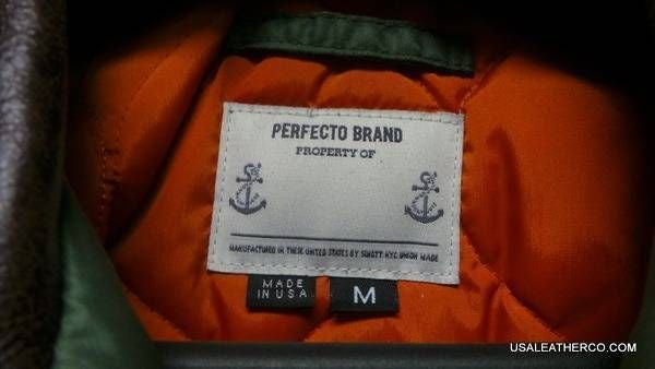 Perfecto Brand P-981 Unique Jacket  size Medium  Made in USA BY SCHOTT NYC sold SOLD
