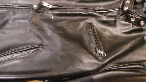 SCHOTT-NYC-PERFECTO-641HH-Horsehide-Leather-Jacket-Black-Made-in-USA NWT