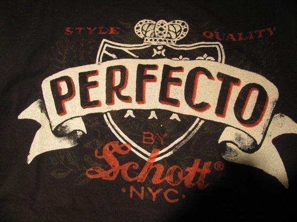 SCHOTT NYC Perfecto T Shirt Made in USA