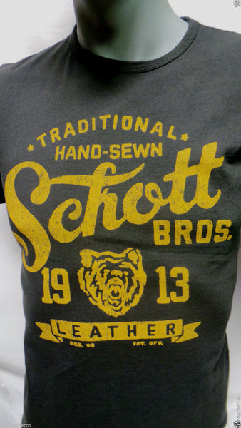 Schott nyc T- SHIRT SS  Made in USA  NEW ASK FOR SIZES  FREE SHIPPING USA ONLY