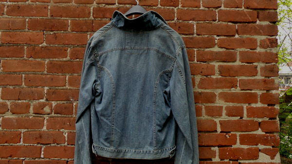 Schott NYC LIGHT DENIM JACKET   RARE  NWT