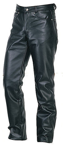 Schott NYC Mens 600 or 604  LEATHERS NEW  JEAN STYLE PANTS STEER HIDES ASK US!