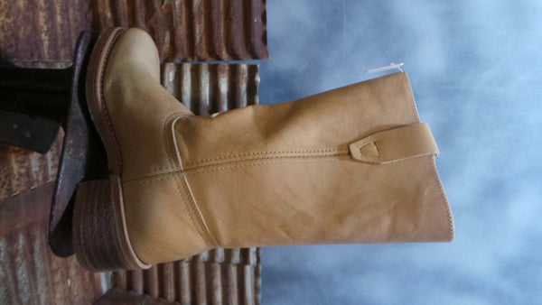 DURANGO Leather Women Rare  Boots #RD 809 MADE IN USA NEW 6 M VEGETABLE  SADDLE