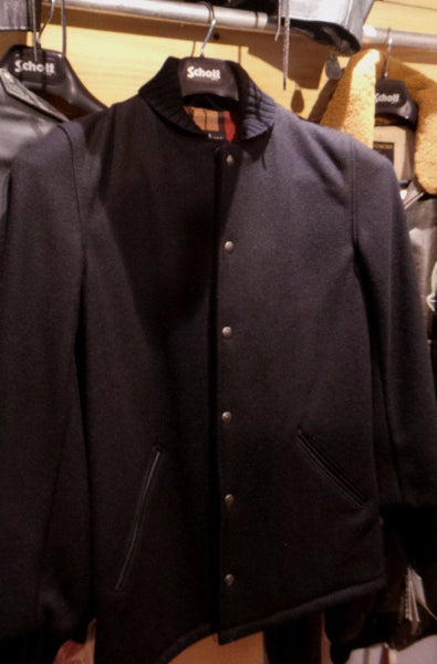 Schott Nyc VAR 1 Wool & Leather Trim Made in USA 4 BARNEYS NYC NWT BLOW OUT SALE