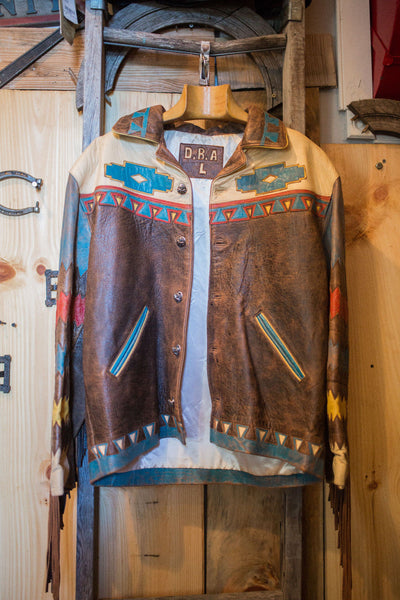 USA DESIGN rare exotic leather Jacket  DBA sold sold