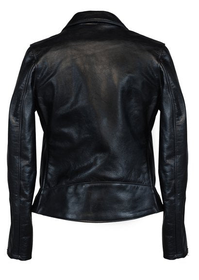 Schott Classic NEW/TAGS Boyfriends Leather Women's Motorcycle Jacket Black 636 W sold out