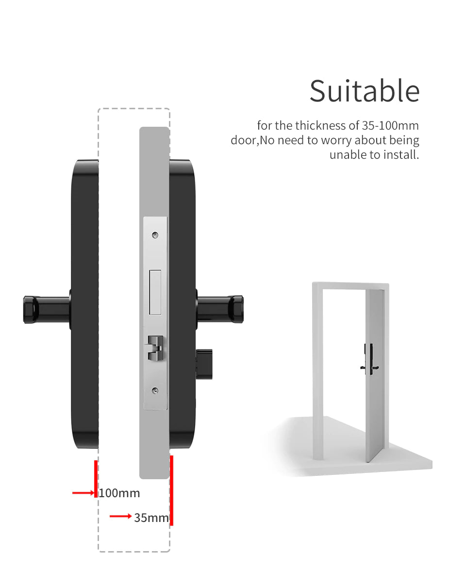 Smart fingerprint door lock - gadgetcart