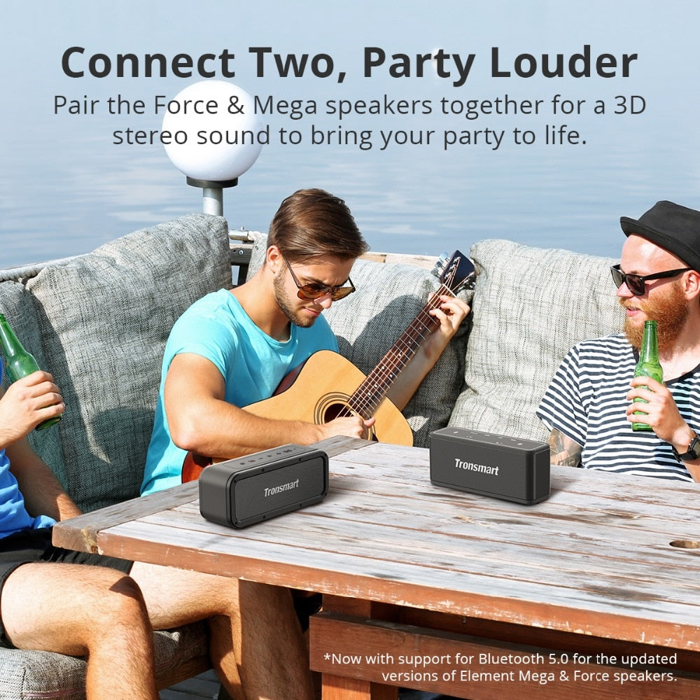Wireless speaker bluetooth waterproof - GadgetCart