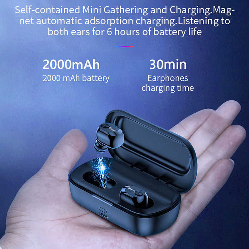 Wireless earbuds bluetooth waterproof - GadgetCart
